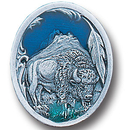 Siskiyou Buckle PN2167E Collector Pin - Bison and Feather