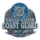 Siskiyou Buckle PN2186E Coast Guard Pin
