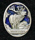 Siskiyou Buckle PN2191E Collector Pin - Montana Elk