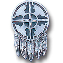Siskiyou Buckle PN2221E Collector Pin - Indian Shield