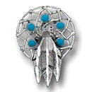 Siskiyou Buckle PN2226E Collector Pin - Indian Feathers