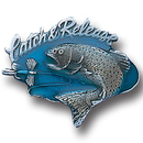 Siskiyou Buckle PN3003E Collector Pin - Catch and Release