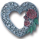 Siskiyou Buckle PN3023E Collector Pin - Scroll Heart