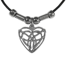Siskiyou Buckle PT239S Earth Spirit Necklace - Celtic Heart