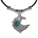 Siskiyou Buckle PT2S Earth Spirit Necklace - Eagle & Stone