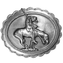 Siskiyou Buckle End of the Trail Antiqued Belt Buckle, Q10