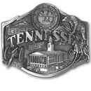 Siskiyou Buckle Q35 Tennessee Antiqued Belt Buckle