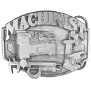Siskiyou Buckle Machinist Antiqued Belt Buckle, R50