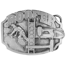 Siskiyou Buckle Roofer Antiqued Belt Buckle, R85