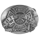 Siskiyou Buckle R92 Firefighter Buckle Antiqued Belt Buckle