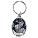 Siskiyou Buckle RK300E Key Ring - Colorado Elk
