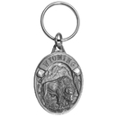 Siskiyou Buckle Wyoming Bison Antiqued Keyring, RK320