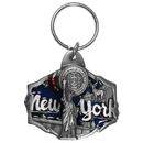 Siskiyou Buckle RK69E Key Ring - New York Statue of Liberty