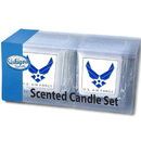 Siskiyou Buckle S2CD18 Air Force Candle Set