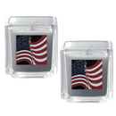 Siskiyou Buckle S2CD24 Candle Set - American Flag