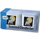 Siskiyou Buckle S2CD25 Candle Set - Howling Wolf