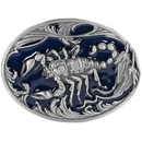 Siskiyou Buckle S2E Scorpion w/leaves Enameled Belt Buckle