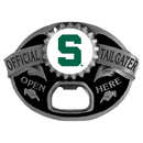 Siskiyou Buckle SCB41TG Michigan St. Spartans Tailgater Belt Buckle
