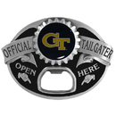 Siskiyou Buckle SCB44TG Georgia Tech Yellow Jackets Tailgater Belt Buckle