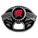 Siskiyou Buckle SCB51TG Wisconsin Badgers Tailgater Belt Buckle