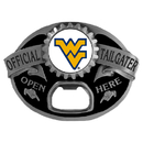 Siskiyou Buckle SCB60TG W. Virginia Mountaineers Tailgater Belt Buckle