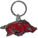 Siskiyou Buckle SCCK12 Arkansas Razorbacks Enameled Key Chain