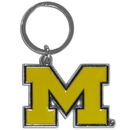 Siskiyou Buckle SCCK36 Michigan Wolverines Enameled Key Chain