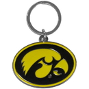 Siskiyou Buckle SCCK52 Iowa Hawkeyes Enameled Key Chain