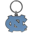 Siskiyou Buckle SCCK9 N. Carolina Tar Heels Enameled Key Chain