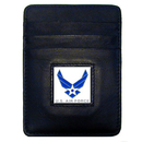 Siskiyou Buckle SCH18 Armed Forces Money Clip/Cardholder - Air Force