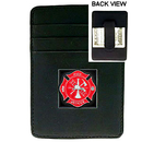 Siskiyou Buckle SCH20 Money Clip/Cardholder - Fire Fighter
