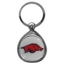 Siskiyou Buckle SCK12C Arkansas Razorbacks Chrome Key Chain