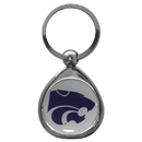Siskiyou Buckle SCK15C Kansas St. Wildcats Chrome Key Chain