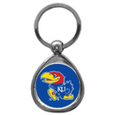 Siskiyou Buckle SCK21C Kansas Jayhawks Chrome Key Chain