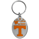 Siskiyou Buckle SCK25 Tennessee Volunteers Carved Metal Key Chain