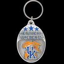 Siskiyou Buckle SCK35 Kentucky Wildcats Carved Metal Key Chain