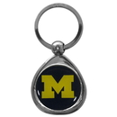 Siskiyou Buckle SCK36C Michigan Wolverines Chrome Key Chain