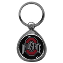 Siskiyou Buckle SCK38C Ohio St. Buckeyes Chrome Key Chain