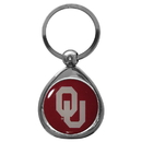 Siskiyou Buckle SCK48C Oklahoma Sooners Chrome Key Chain