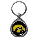 Siskiyou Buckle SCK52C Iowa Hawkeyes Chrome Key Chain