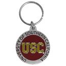 Siskiyou Buckle SCK53 USC Trojans Carved Metal Key Chain