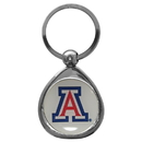Siskiyou Buckle SCK54C Arizona Wildcats Chrome Key Chain
