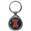 Siskiyou Buckle SCK55C Illinois Fighting Illini Chrome Key Chain
