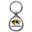 Siskiyou Buckle SCK67C Missouri Tigers Chrome Key Chain
