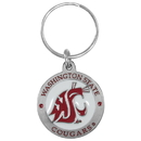 Siskiyou Buckle SCK71Z Washington St. Cougars Carved Metal Key Chain