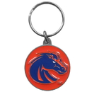 Siskiyou Buckle SCK73 Boise St. Broncos Carved Metal Key Chain