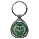Siskiyou Buckle SCK76C Colorado St. Rams Chrome Key Chain