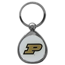 Siskiyou Buckle SCK84C Purdue Boilermakers Chrome Key Chain
