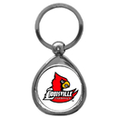 Siskiyou Buckle SCK88C Louisville Cardinals Chrome Key Chain