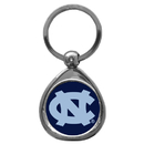Siskiyou Buckle SCK9C N. Carolina Tar Heels Chrome Key Chain